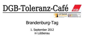 DGB-Toleranz-Café