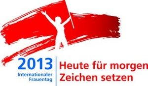 Frauentag 2013-Logo