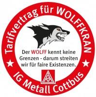 Tarifvertrag für Wolfkran