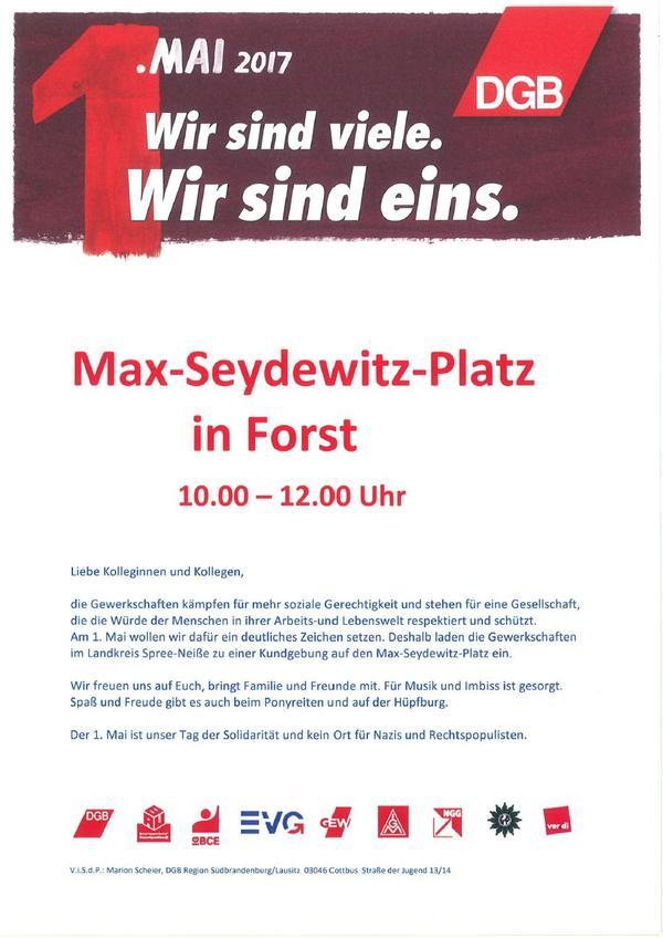 Plakat Forst