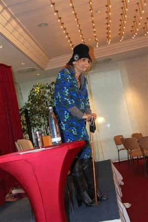 Kabarettistin Andrea Kulka