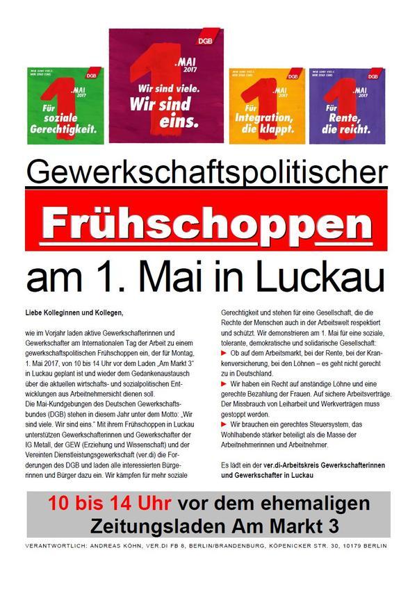 Plakat Luckau
