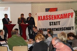 Klassenkampf statt Sozialpartnerschaft