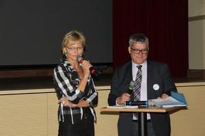 Birgit Hendrischke mit Ralf Jußen