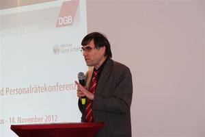 Staatssekretär Prof. Dr. Wolfgang Schroeder