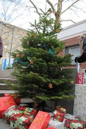 Gewerkschaftsweihnachtsbaum