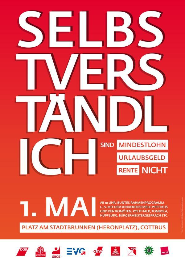 1. Mai-Plakat