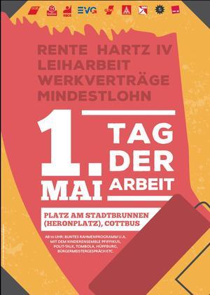 1. Mai Plakat