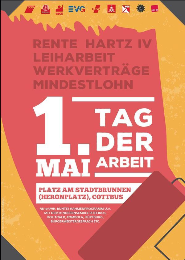 Plakat Cottbus