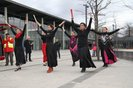Flamenco vor dem Demostart